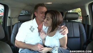 Beguiling latin Vanessa Leon with large natural billibongs i has full trust in her pal
