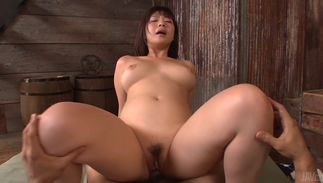 Overwhelming barely legal Wakaba Onoue with curvy tits visits her depraved paramour
