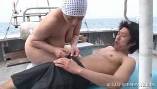 Delicious big breasted cutie Ryoko Murakami looks amazing and extremely wild and hot